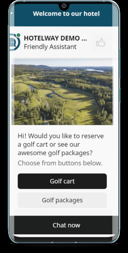 Golf Cart Demo Bot